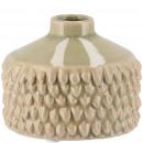 Ceramic vase Danil, D10cm, H8cm, opening 2,5cm, gr